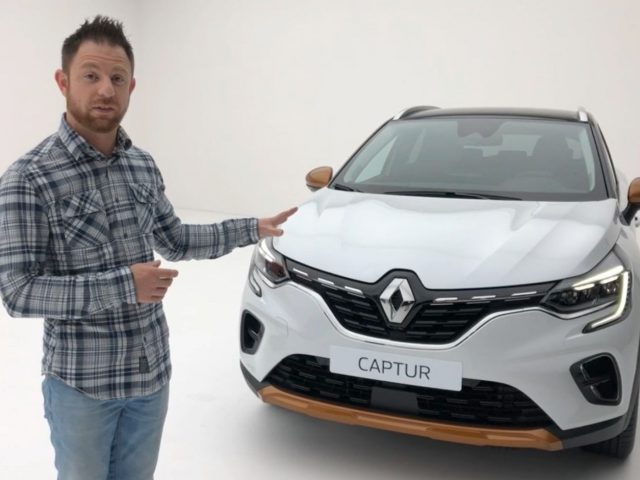 Renault Captur 2020 sneak preview
